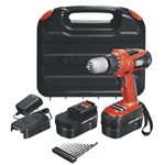 Black & Decker 18v Drill/Driver With 10 Accessories