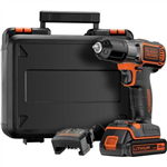 Black & Decker 18v Lithium-ion Cordless Drill/Driver With Autosense And Autoselect Technology
