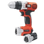Black & Decker 12v MAX* Lithium Drill/Driver With 2 Batteries
