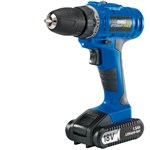 Draper Storm Force® Cordless Drill With Li-Ion Battery