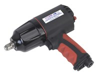 Sealey Composite Air Impact Wrench 1/2'' Sq Drive Twin Hammer