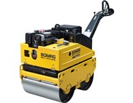 Bomag Double Drum Vibratory Roller