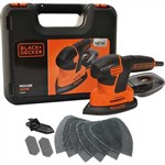 Black & Decker 120w Next Generation Mouse® Sander With Kit Box And 9 Accessories